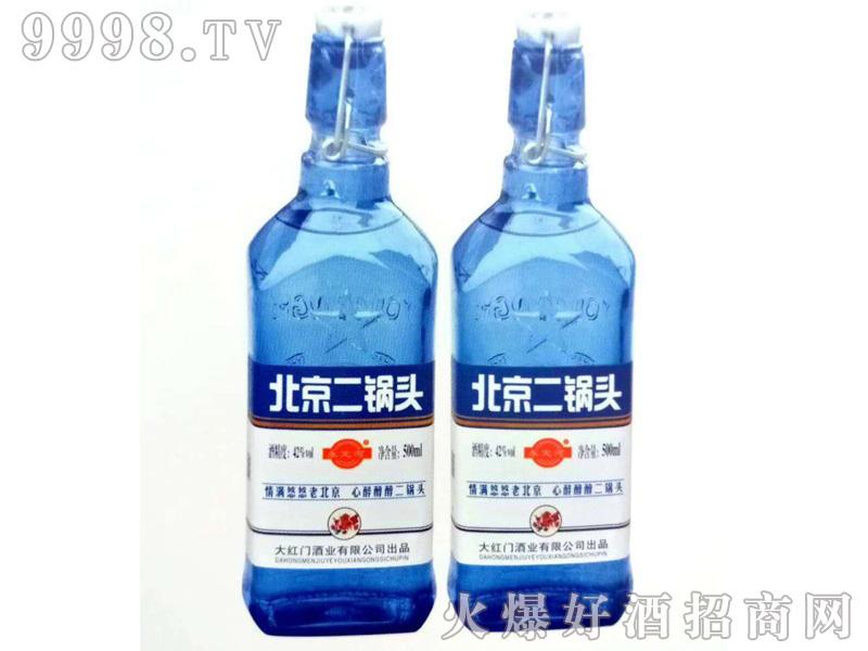 北京二锅头42度500mlx12(蓝瓶)