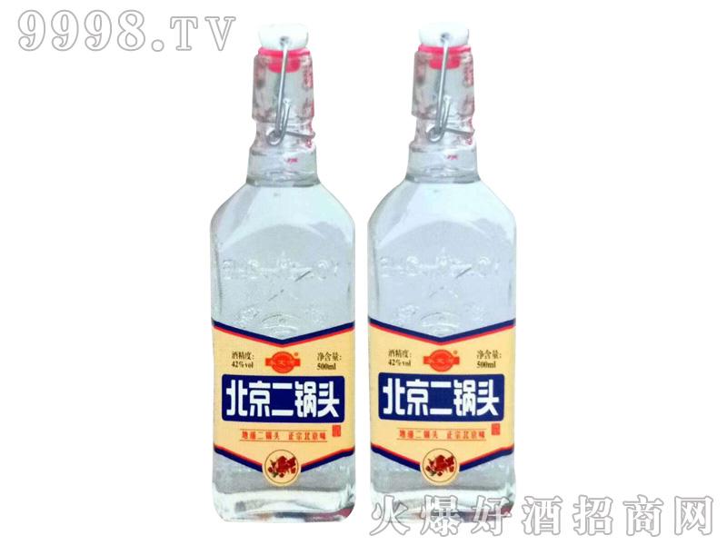 北京二锅头42度500mlx12(白瓶)