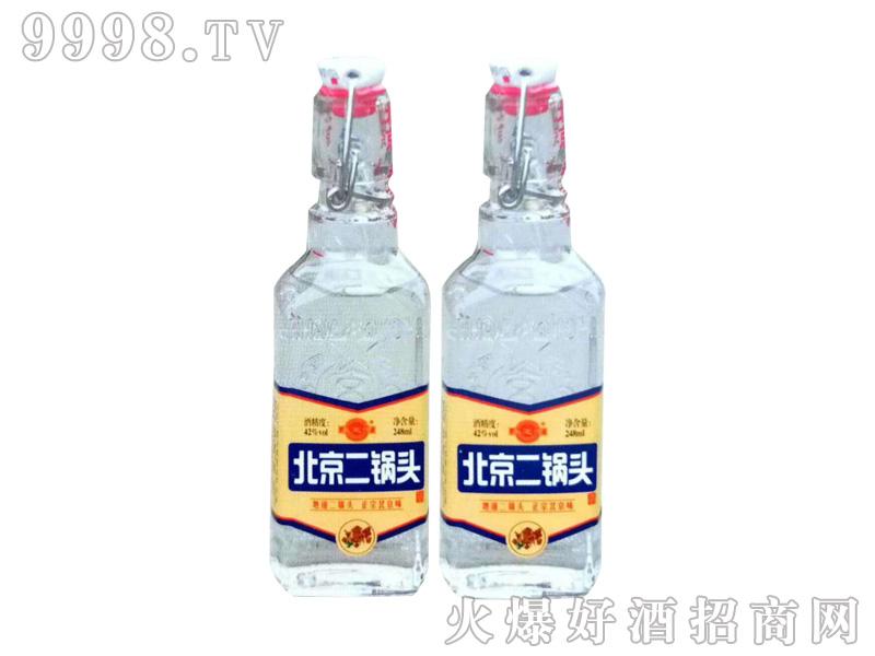 北京二锅头42度248mlx20(白瓶)-白酒招商信息