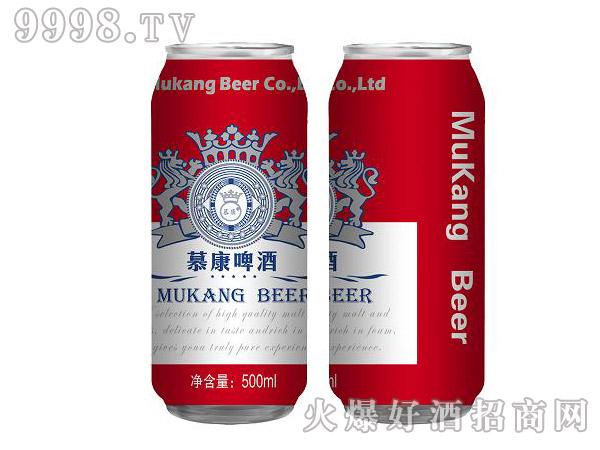 慕康啤酒500ml×12罐(红罐)