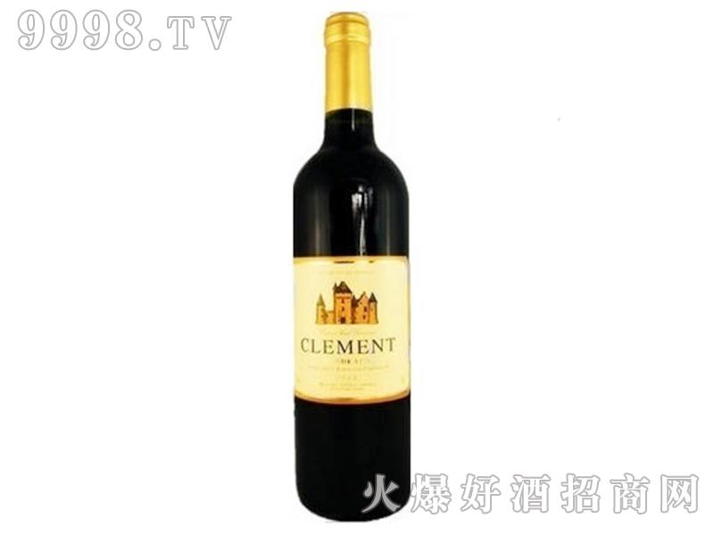 克莱曼老葡园-尚莎玛兰城堡干红葡萄酒