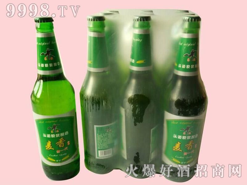 麦香啤酒600ml×9瓶塑包