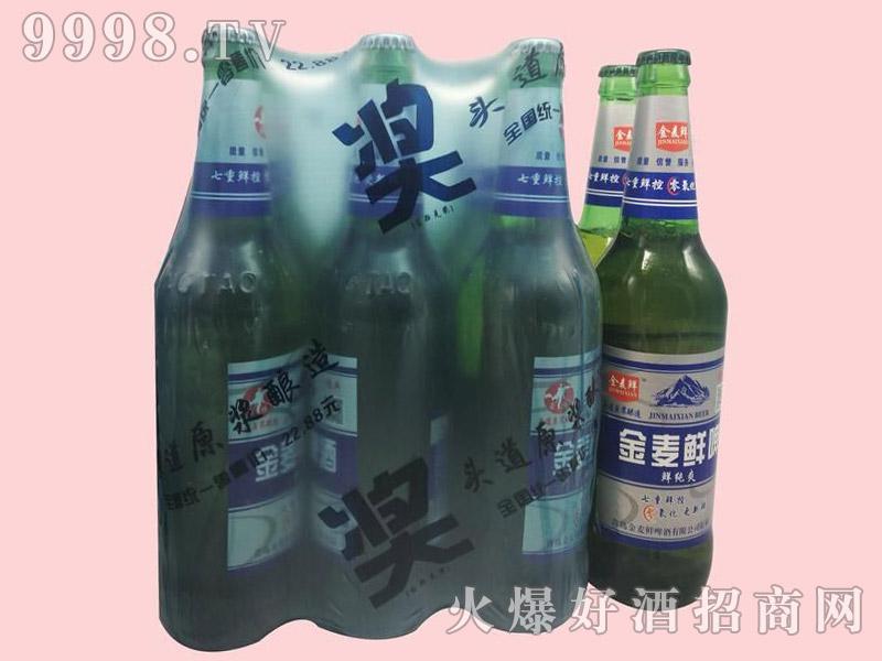 金麦鲜鲜纯爽啤酒500ml×9瓶塑包