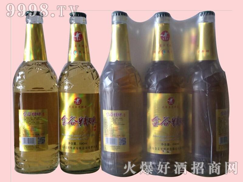 金谷精酿啤酒500ml×9瓶塑包