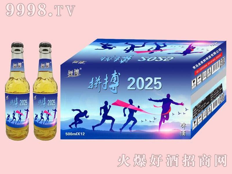 拼搏2025啤酒500ml×12瓶