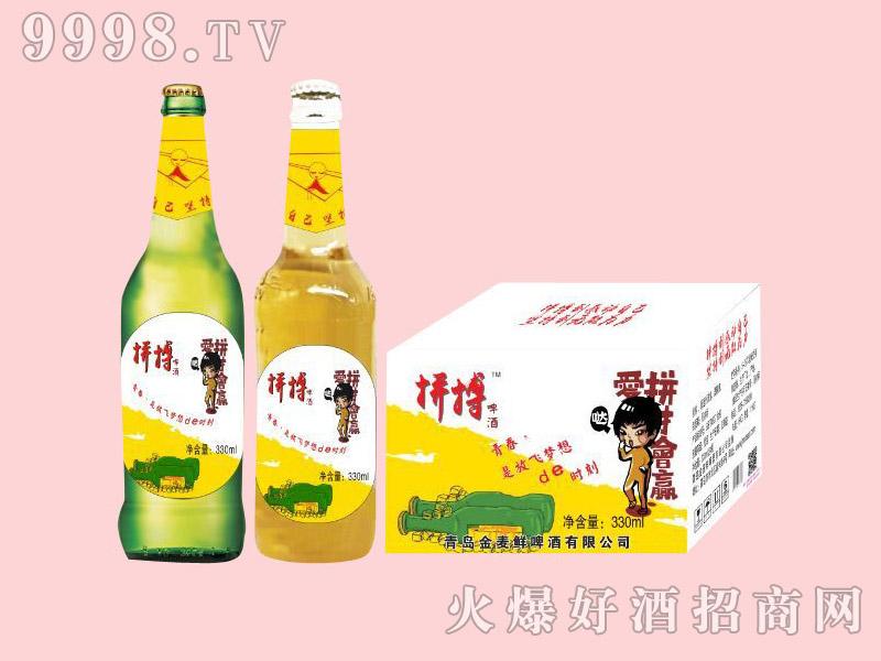 金麦鲜拼搏梦想啤酒500ml×12瓶