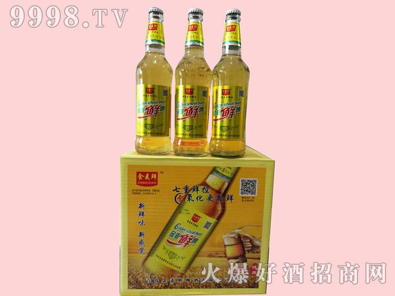 金麦鲜健康啤酒500ml×12瓶