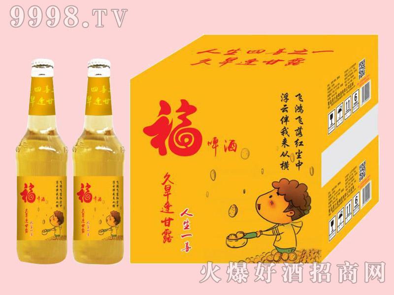 金麦鲜福啤酒500ml×12瓶