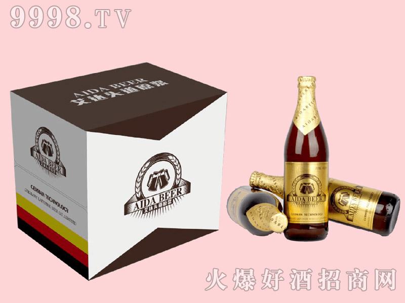艾达头道原浆啤酒500ml×12瓶