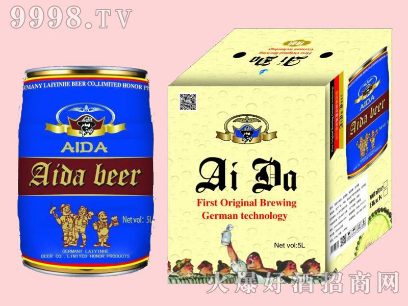 艾达原浆啤酒5L