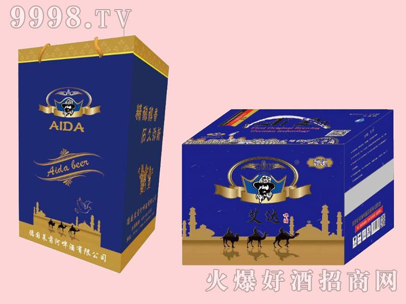 艾达全麦啤酒500ml×12箱装