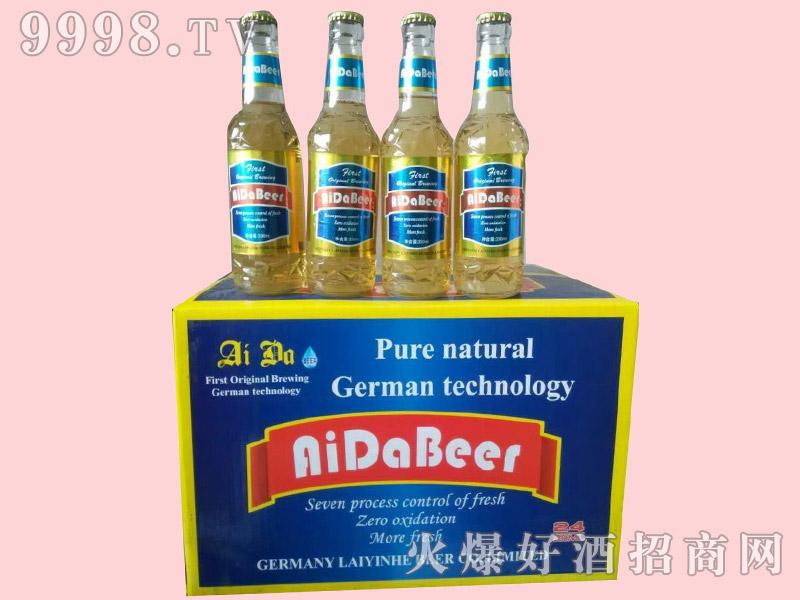艾达精品啤酒330ml×24瓶