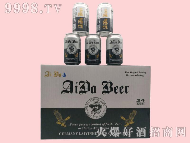 艾达澳麦啤酒330ml×24罐