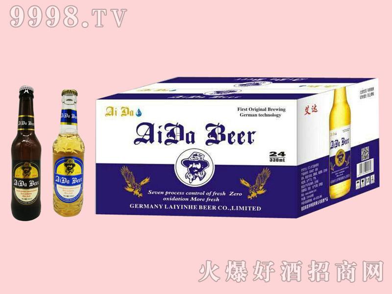 艾达啤酒8°330ml×24瓶