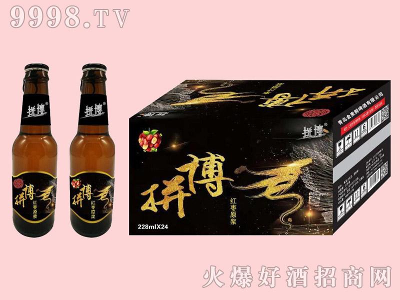 艾达原浆红枣汁啤酒228ml
