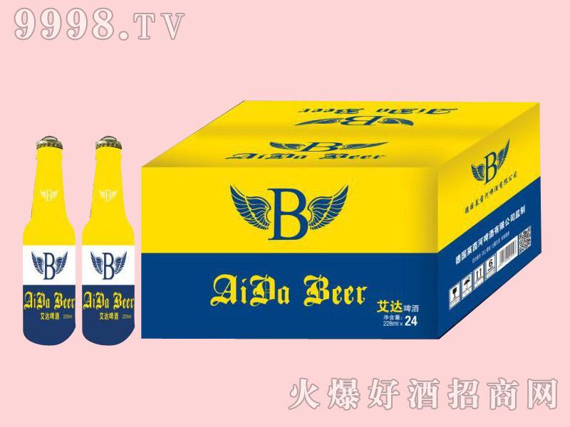 艾达全包啤酒228ml×24瓶