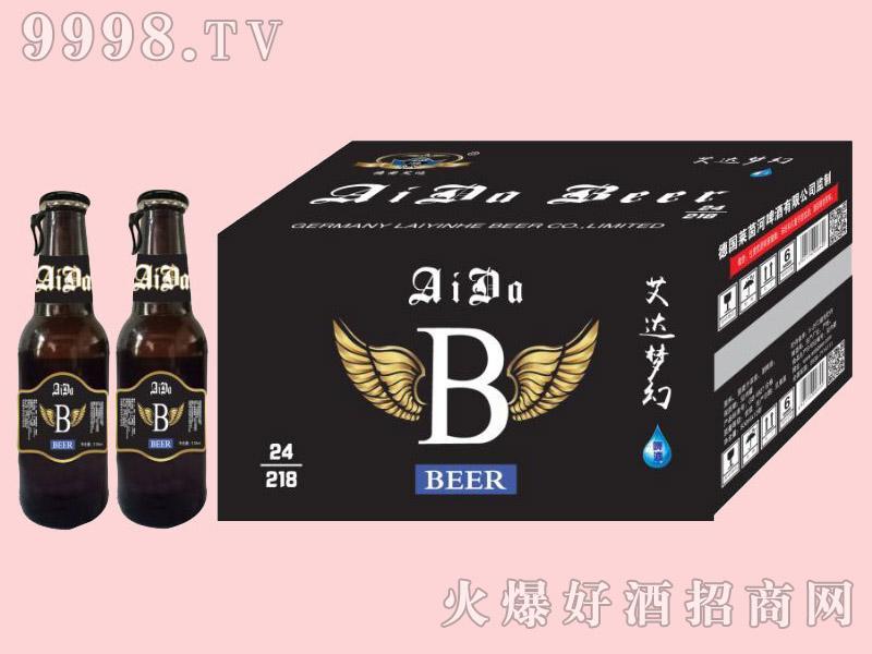 艾达梦幻啤酒228ml×24瓶