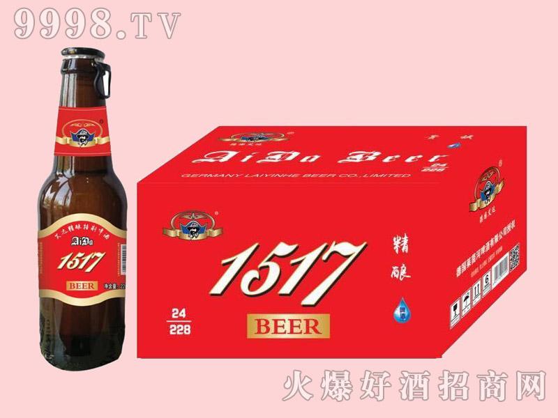 艾达1517精酿啤酒228ml×24瓶