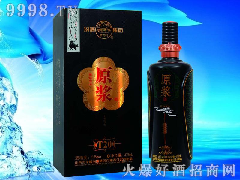 汾酒集团原浆酒T20黑瓶