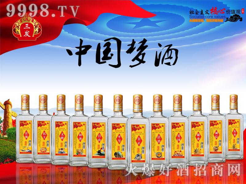 三发中国梦酒黄标