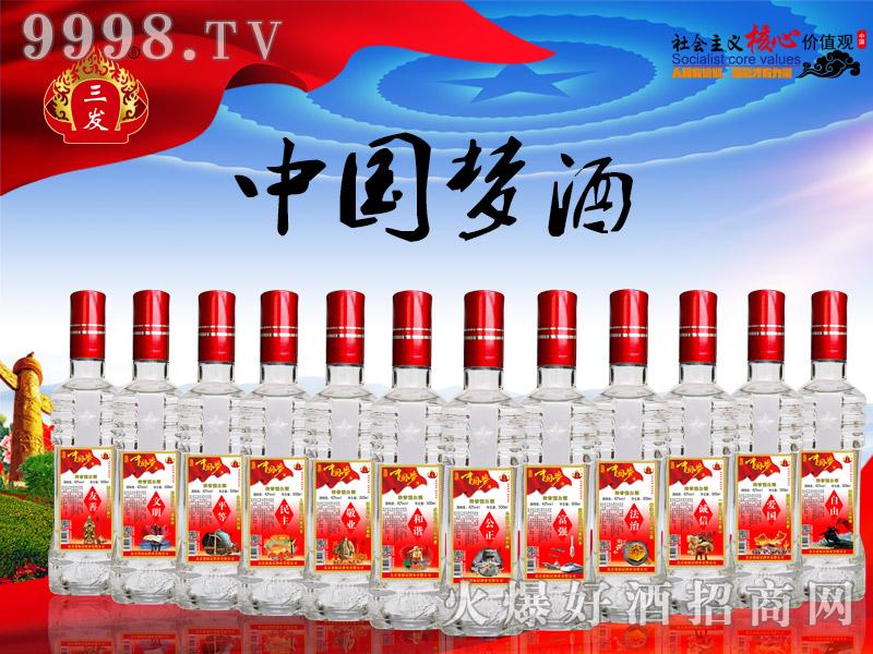 三发中国梦酒红标