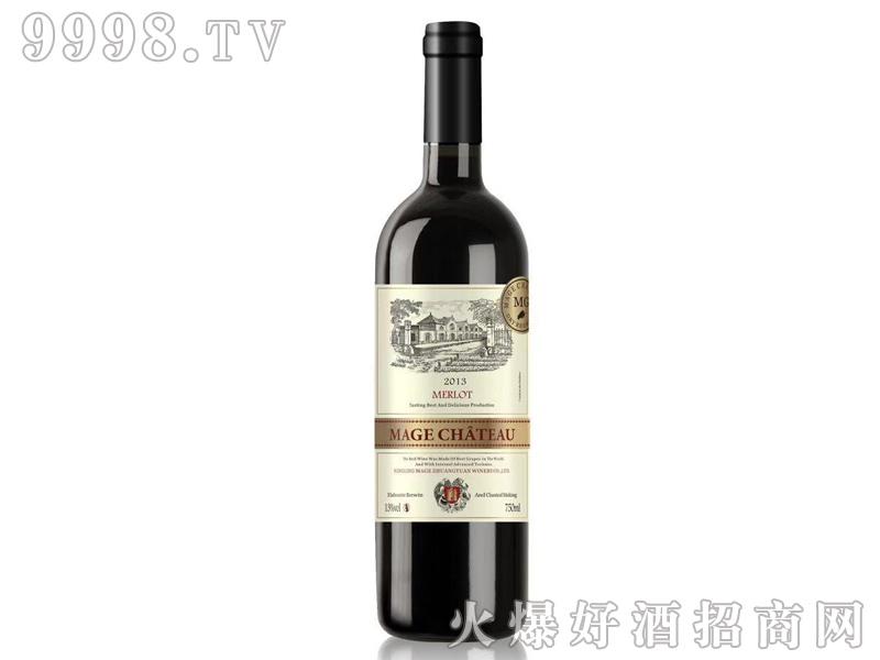 法国依托堡美乐干红葡萄酒2013-红酒招商信息