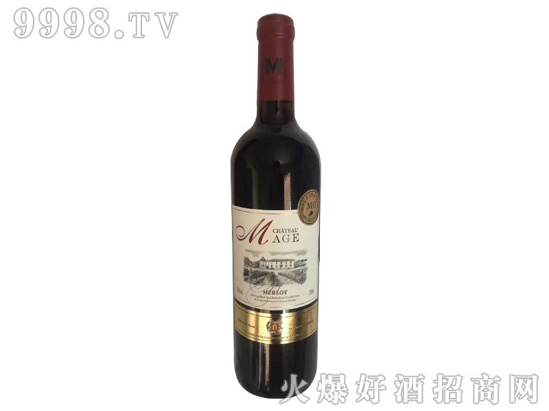 法国依托堡美乐干红葡萄酒-红酒招商信息