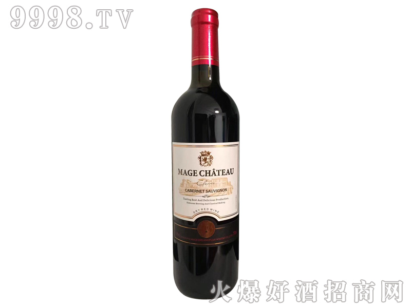 法国依托堡赤霞珠干红葡萄酒