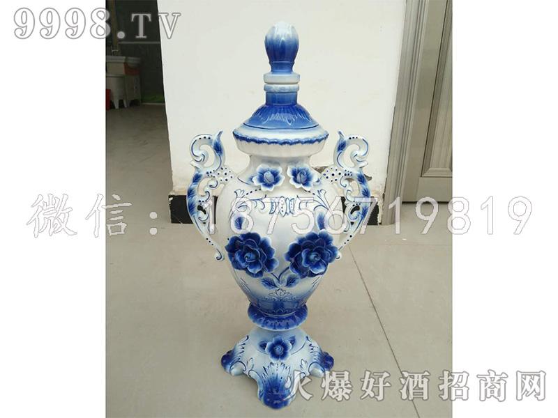 和谐盛世坛子酒(蓝)