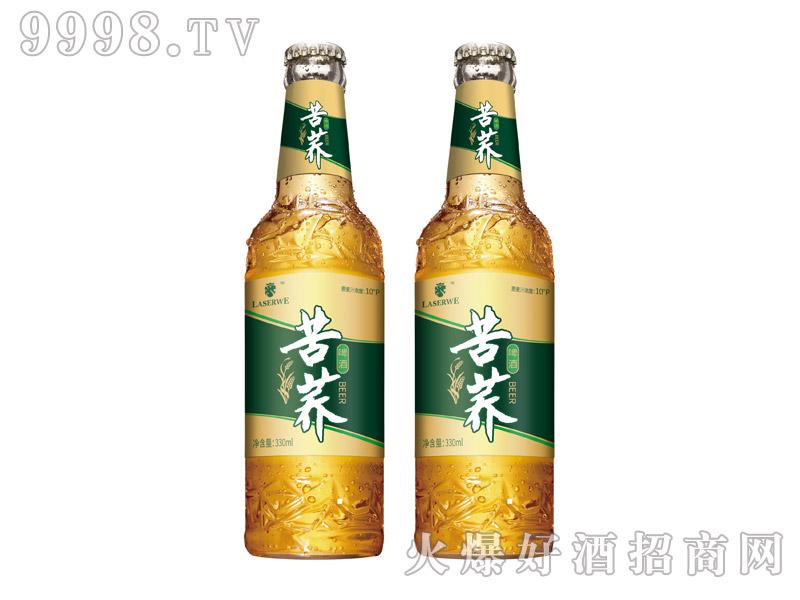 澜圣威苦荞啤酒10度330ml瓶装