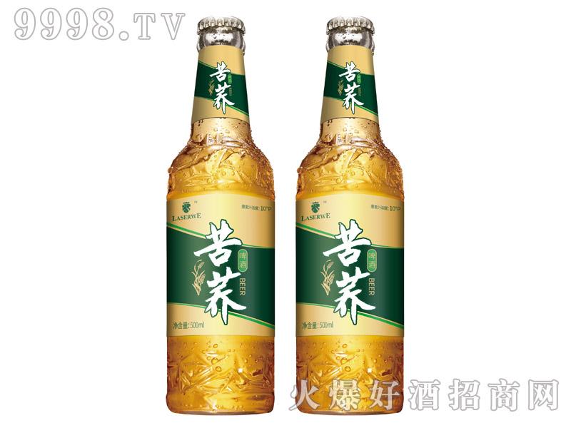 澜圣威苦荞啤酒10度500ml瓶装