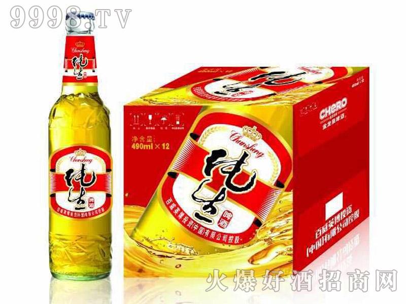 英博纯生啤酒490ml-啤酒招商信息