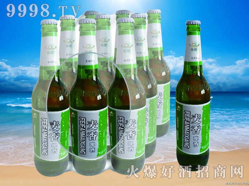 青杰啤酒麦香啤酒500ml