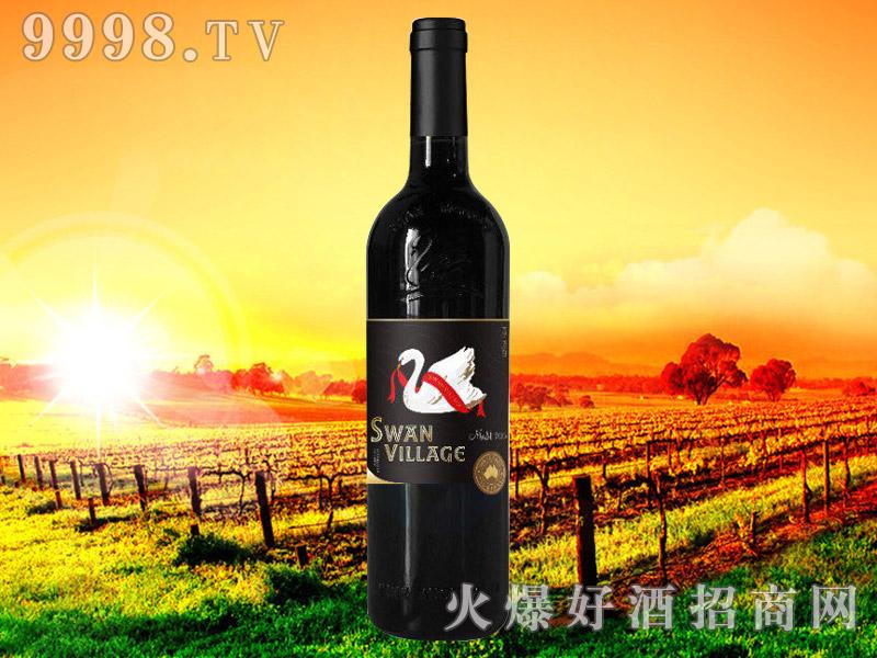 西澳天鹅美乐干红葡萄酒