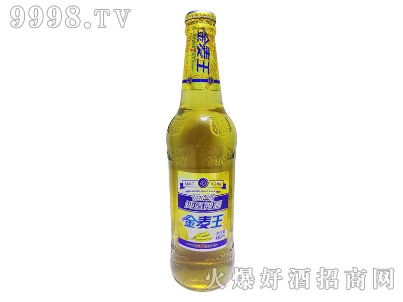 纯清金麦王480ml