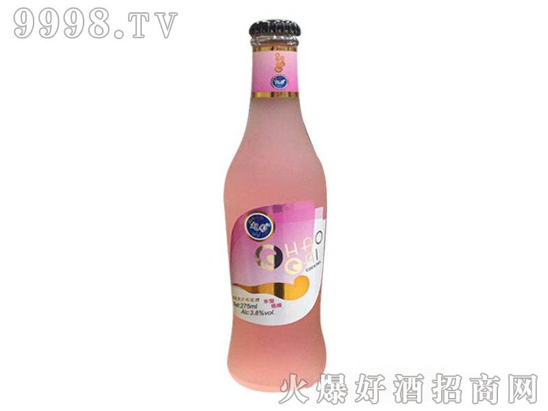 水蜜桃味超彩鸡尾酒3.8度275ml-好酒招商信息