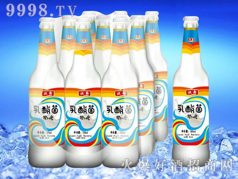 汉斯乳酸菌奶啤500ml-亮剑啤酒