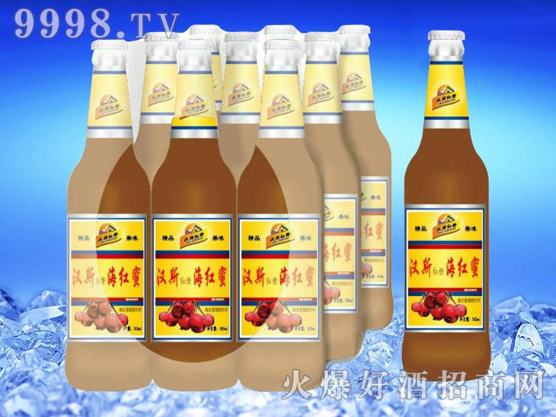 汉斯红橙海红蜜果啤500ml-亮剑啤酒