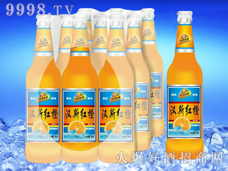汉斯红橙果啤500ml-亮剑啤酒