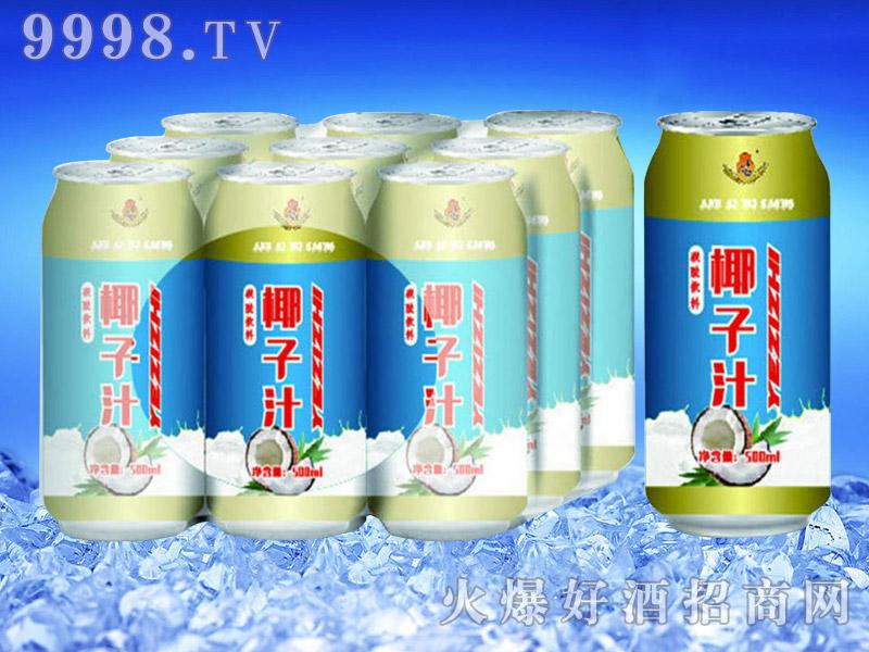 亮剑啤酒罐装椰子汁果啤500ml