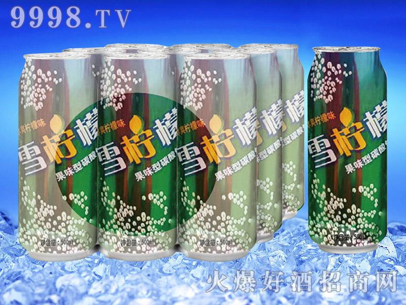 亮剑啤酒罐装雪柠檬果啤500ml