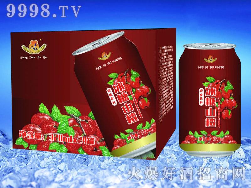 亮剑啤酒罐装冰糖山楂果啤320ml×24