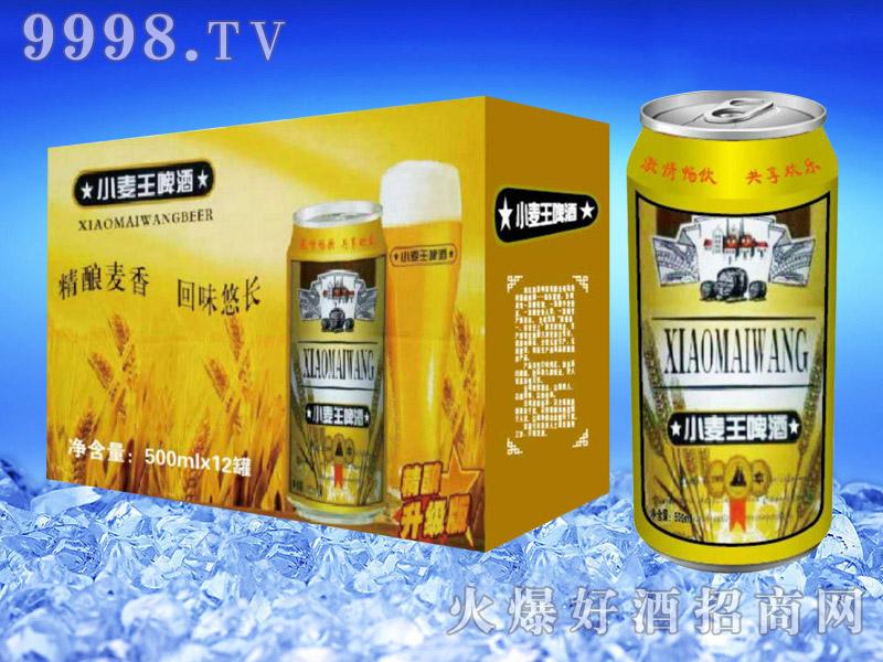 亮剑啤酒罐装小麦王啤酒500ml×12