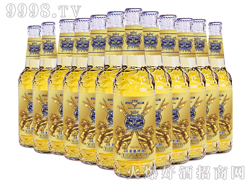 500ml皇家经典8度白瓶