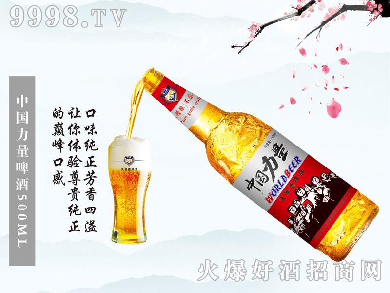 500ml中国力量10°白瓶