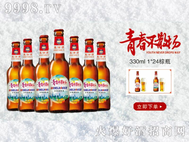 青春不散场330ml-1x24棕瓶(绿)-啤酒招商信息