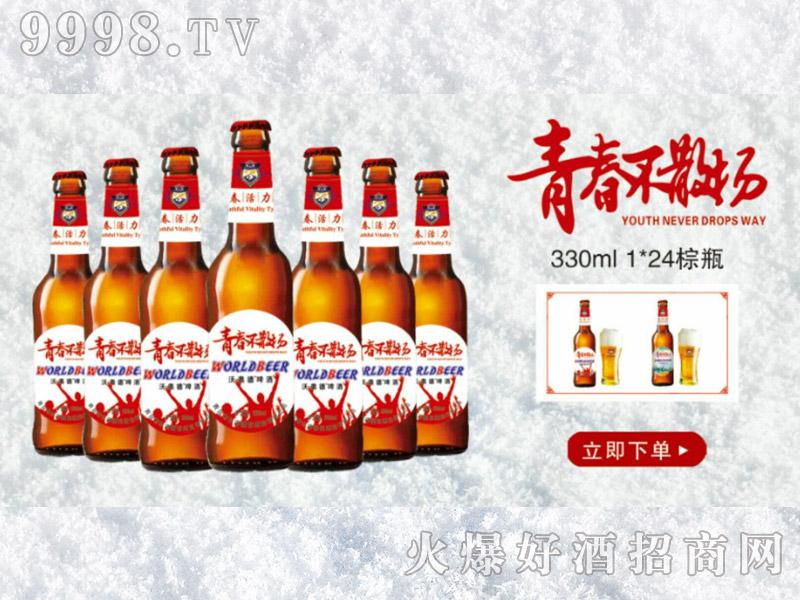 青春不散场330ml-1x24棕瓶(白)
