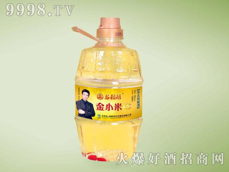 谷稻醇酒·金小米42度1L