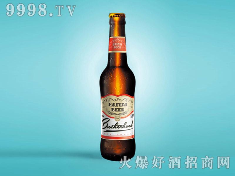 海态兄弟情啤酒320mlX24(英文版)