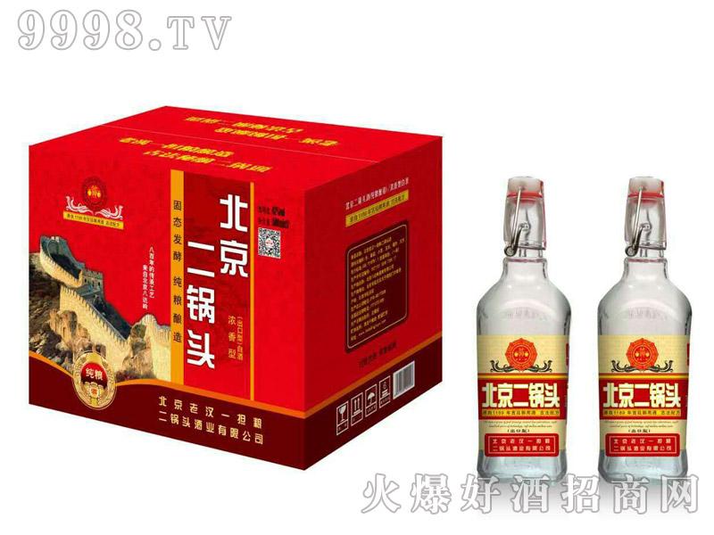 北京老汉一担粮二锅头酒(红)